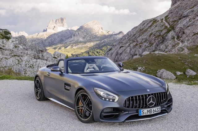 New Mercedes-AMG GT Roadster And GT C Roadster