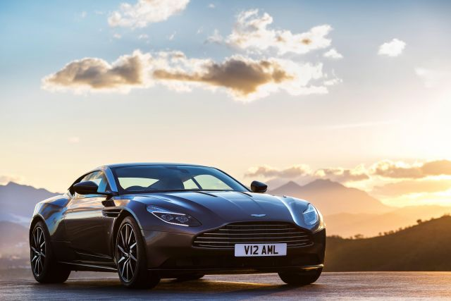 Aston Martin Starts Production Of New DB11