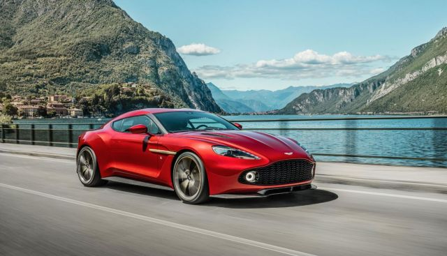 New Aston Martin Vanquish Zagato Revealed