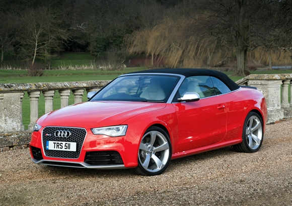First drive: Audi RS5 Cabriolet