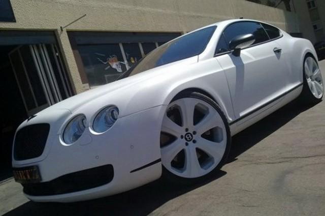 Bentley Continental GT Snakeskin