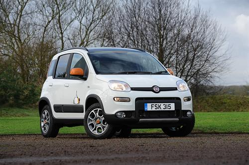 New Fiat Panda 4x4 now available to order