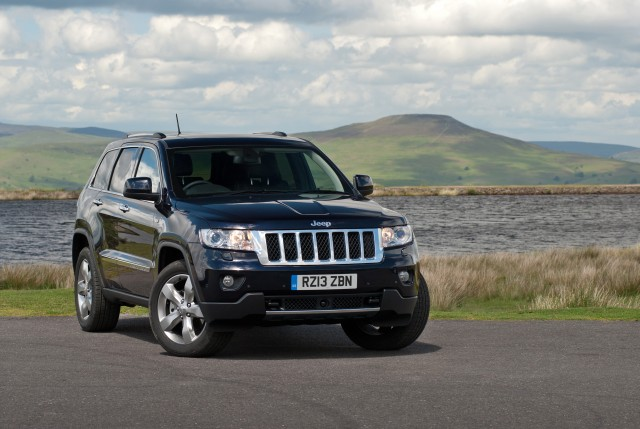 Jeep Grand Cherokee from £399 per month