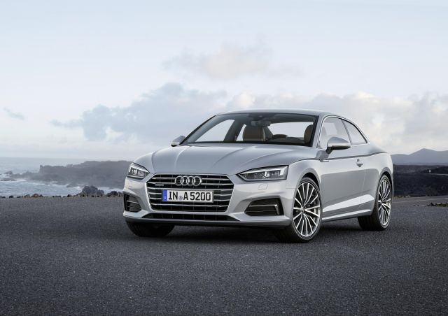 New Audi A5 And S5 Coupé Revealed In Germany