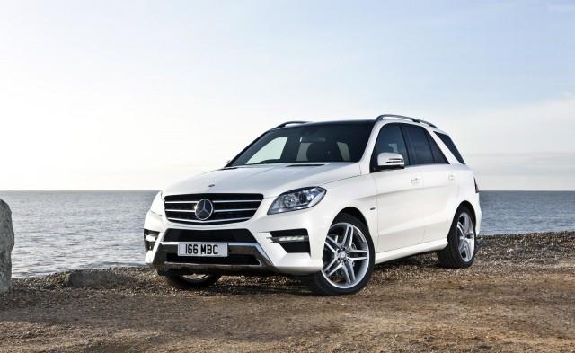 New Mercedes M-Class is a Christmas Cracker