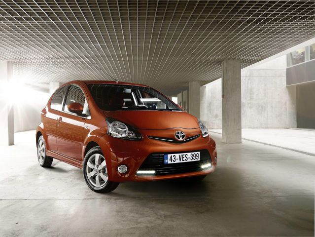 New Toyota Aygo Move With Style 0% Finance