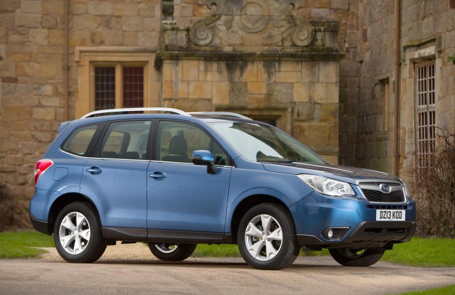 New updated Subaru Forester