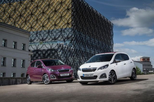 Peugeot 108 the Perfect 'City Car'