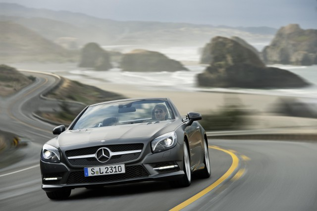 Prices confirmed for the new Mercedes-Benz SL Class Roadster