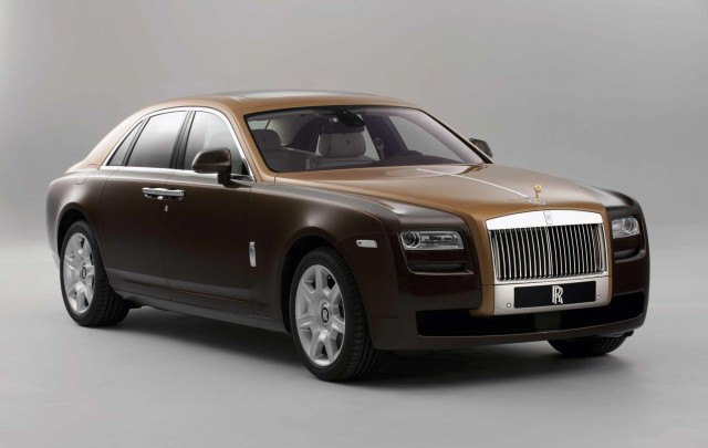 Rolls-Royce Ghost Two-Tone Paint