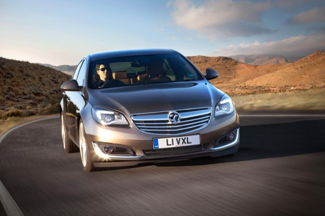 New Vauxhall Insignia range now on sale