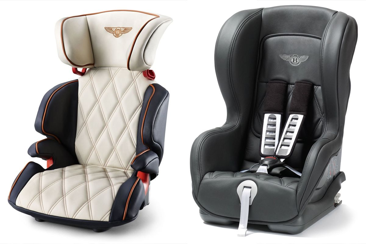 Bentley Personalised Child Seats