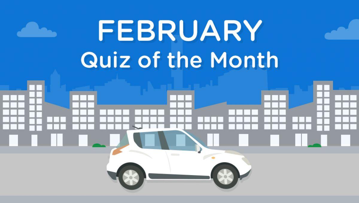 February Motoring News Quiz