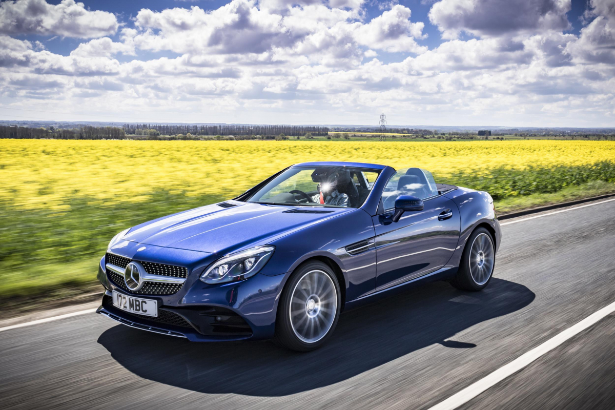 Mercedes-Benz SLC Roadster from £32,774
