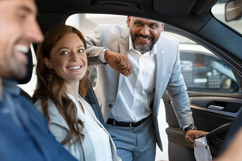 Car dealerships open
