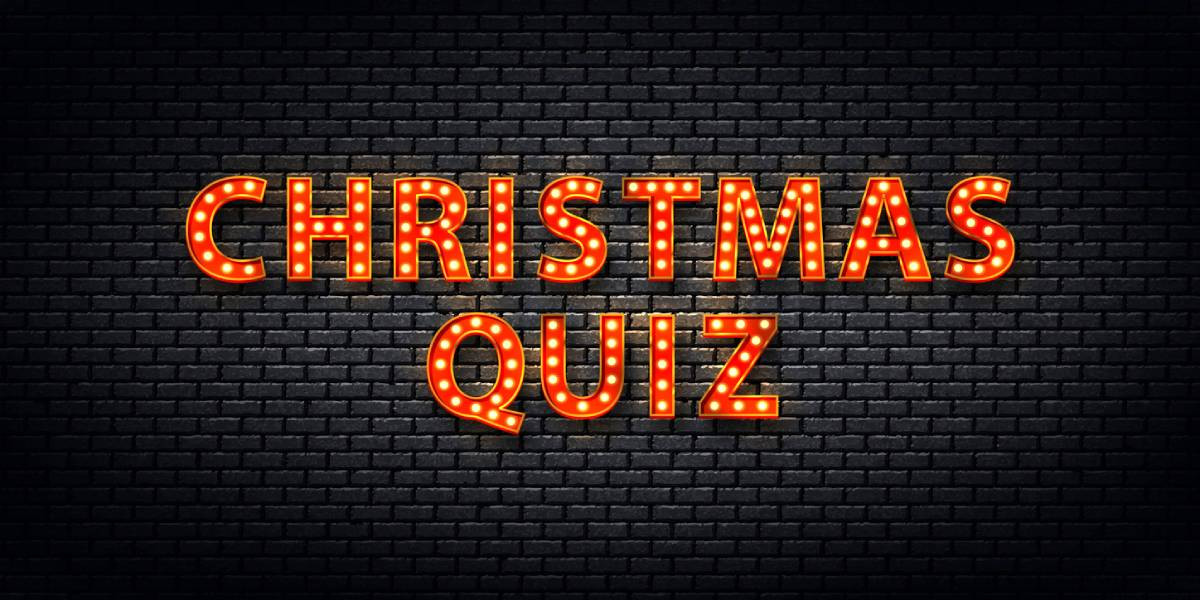 Christmas Quiz of the Year 2020