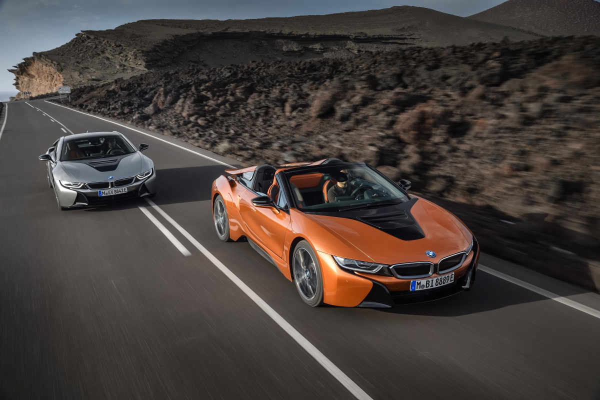 Introducing the New BMW i8 Roadster