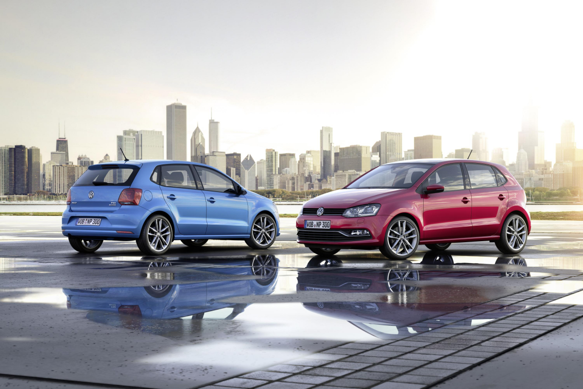 6 Generations of the Volkswagen Polo