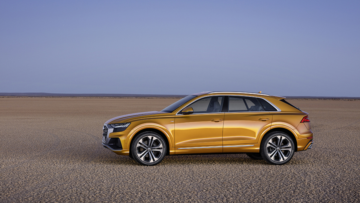 Audi Take the Wraps off Their New Flagship Q-Model