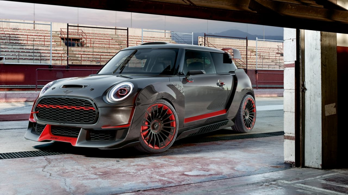 Mini Take the Wraps off Two New Concepts at the Goodwood Festival of Speed Image 1