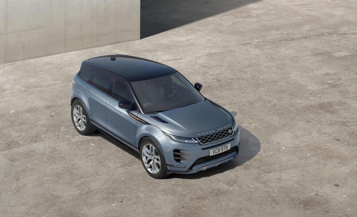 The New 2019 Range Rover Evoque Revealed Image 2