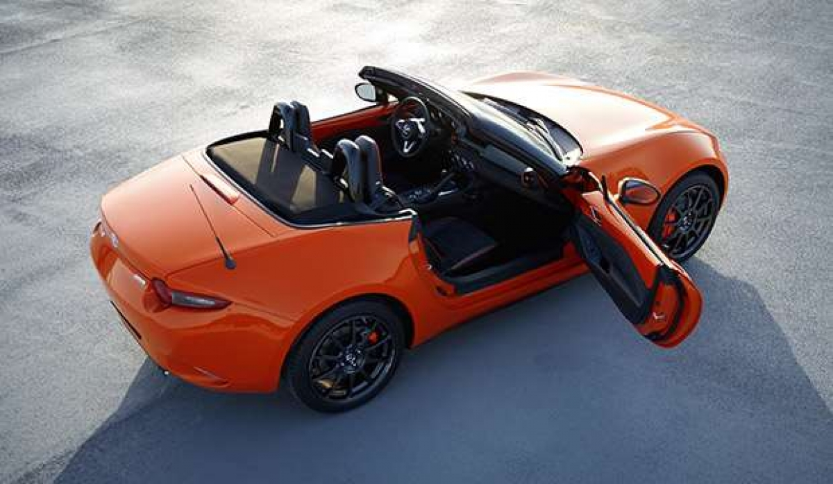 Introducing the Vibrant New Mazda MX5 Special Edition Image 1