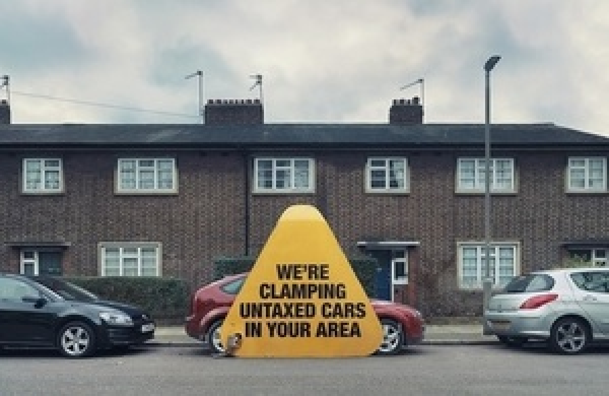 Greedy Car Tax Dodgers Targeted by New DVLA Campaign Image 1