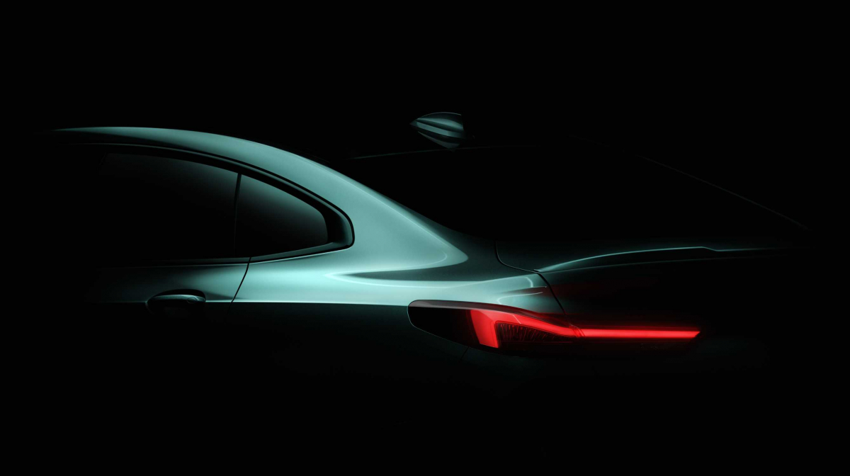 BMW Tease the Brand New 2-Series Gran Coupe Image 1
