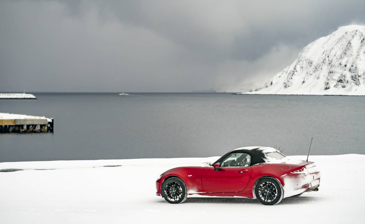 An Arctic Drive for the Mazda MX-5 30th Anniversary Image 0