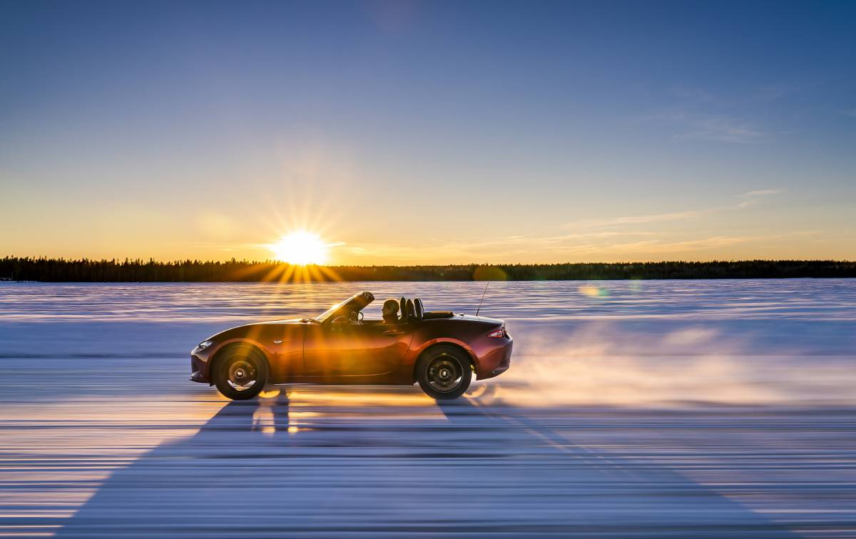 An Arctic Drive for the Mazda MX-5 30th Anniversary Image 3