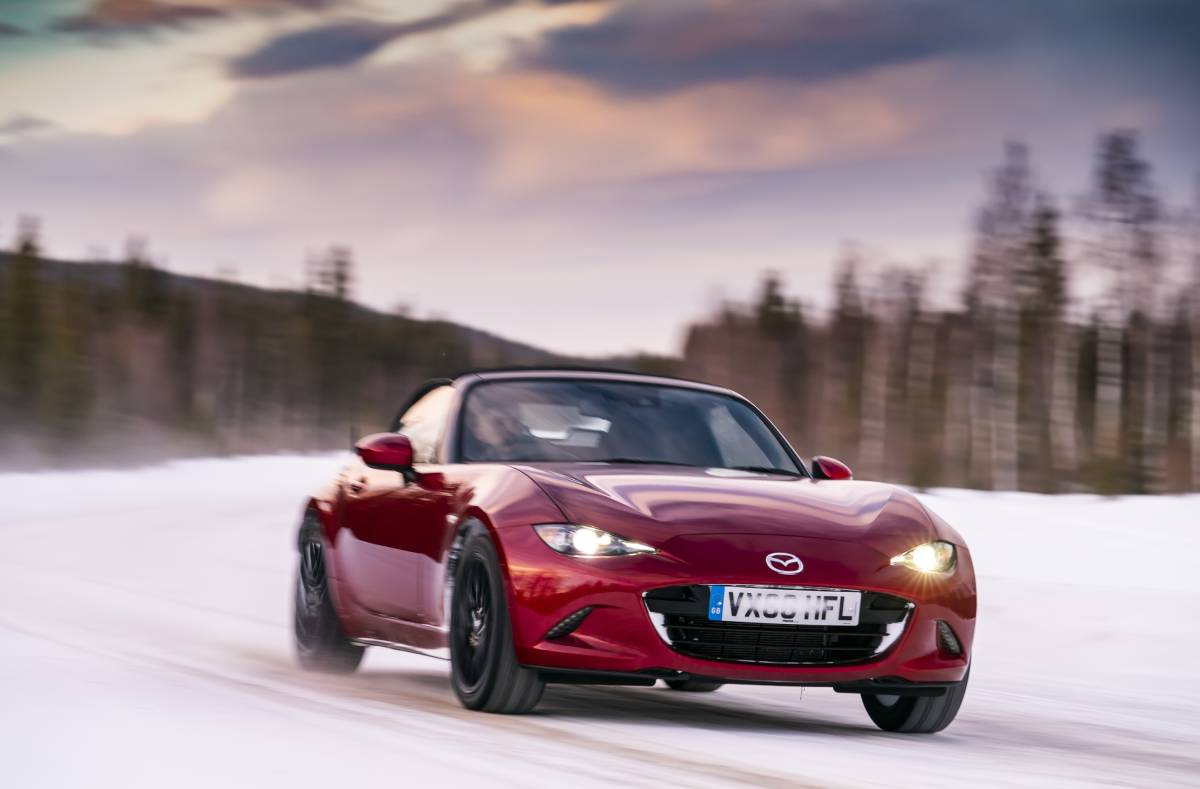 An Arctic Drive for the Mazda MX-5 30th Anniversary Image 4