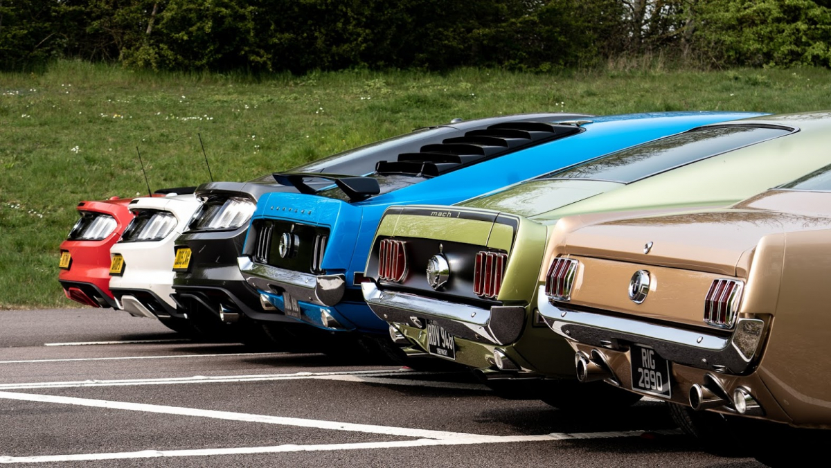 The Ford Mustang Turns 55 Years Old and It's as Dominant as Ever Image 0