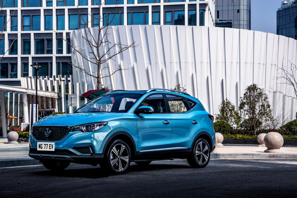 MG ZS EV Preview as Brand Readies Its First Electric Car Image 0