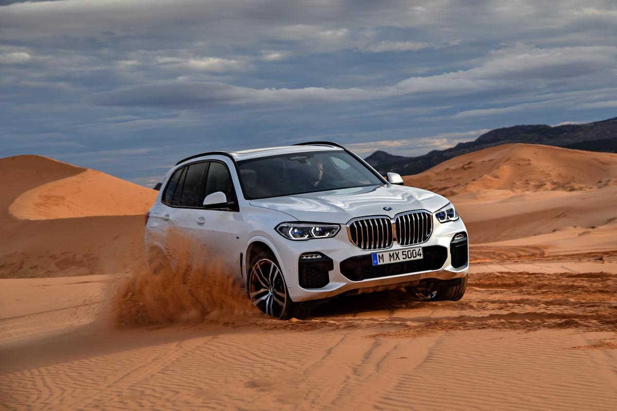 Explore the New BMW X5 SUV