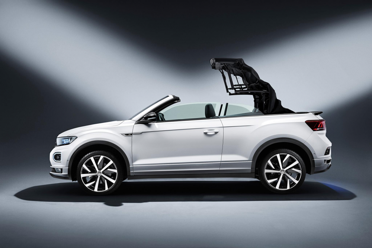 Volkswagen Have Unveiled the T-Roc Cabrio Image 0