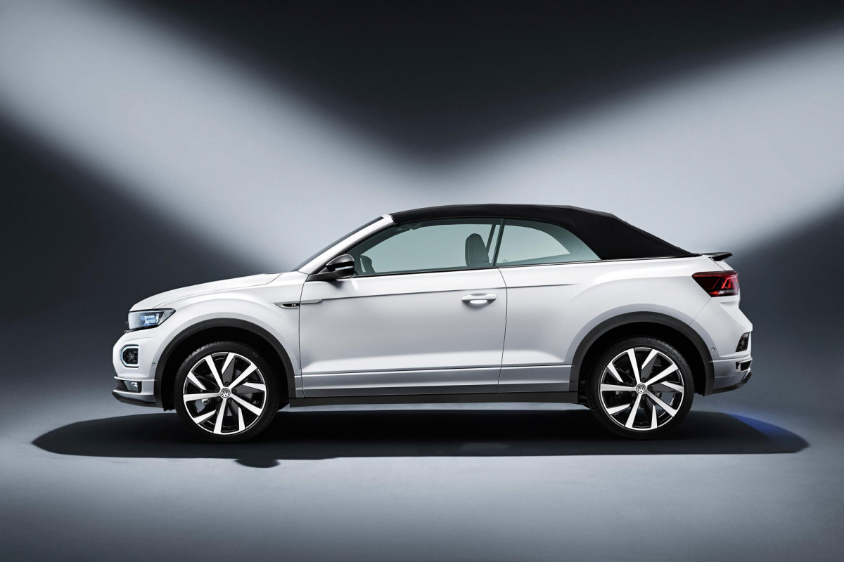 Volkswagen Have Unveiled the T-Roc Cabrio Image 1