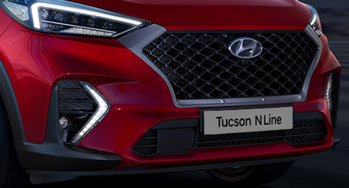 The New Hyundai Tucson N Line £500 Saving in the Try & Buy Event Image 1