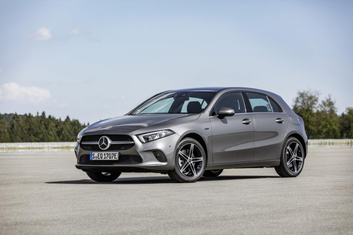 Mercedes-Benz Announce the Electrified A-Class Hybrid Image 3