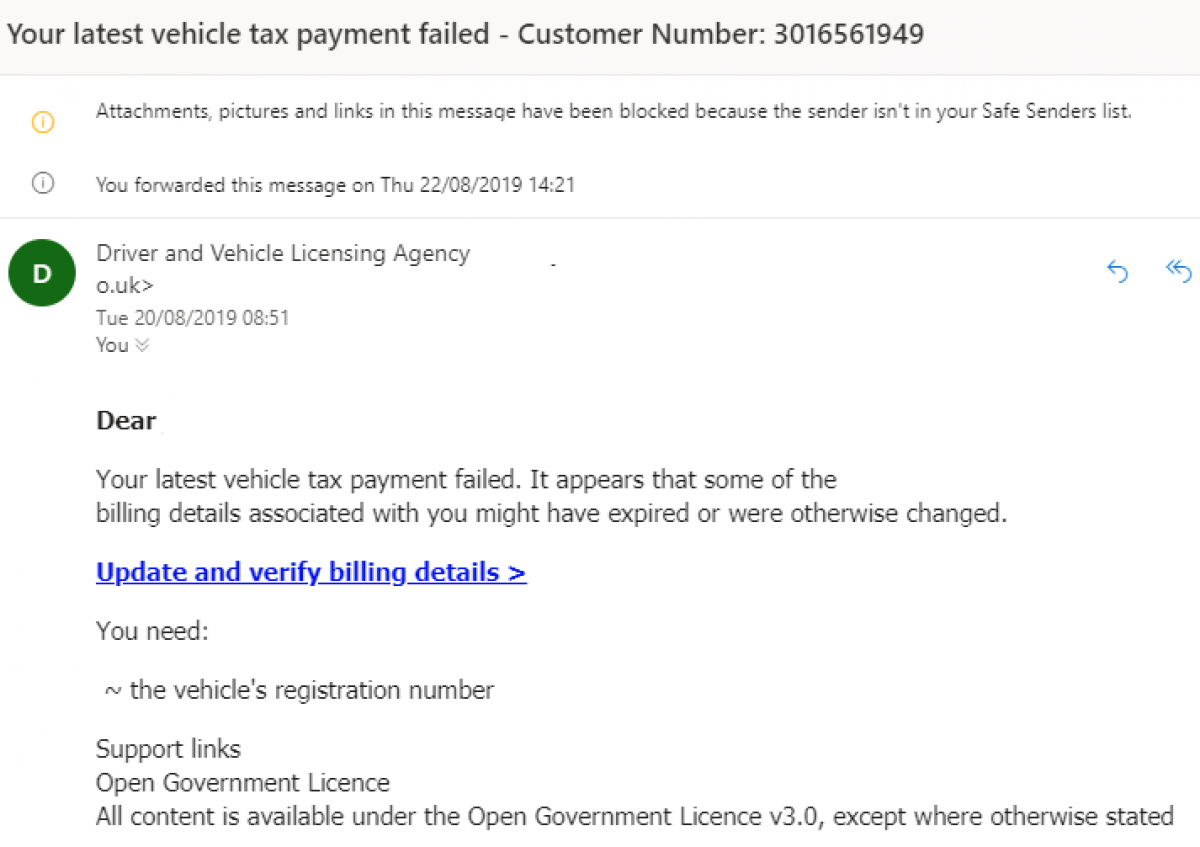 Vehicle Tax Scam Messages Revealed & How to Stay Safe Image 7