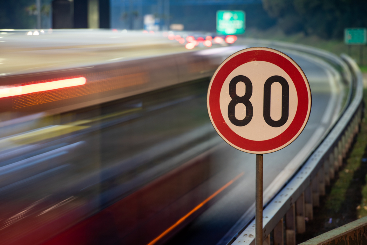 Government to Consider 80mph Speed Limit on Motorways Image 0
