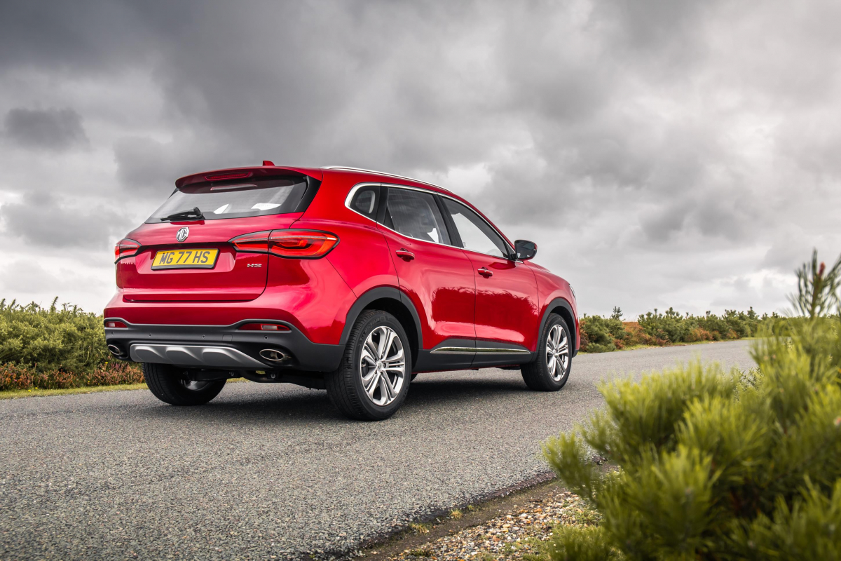 MG Motor UK Launches Their All-New MG HS Image 0