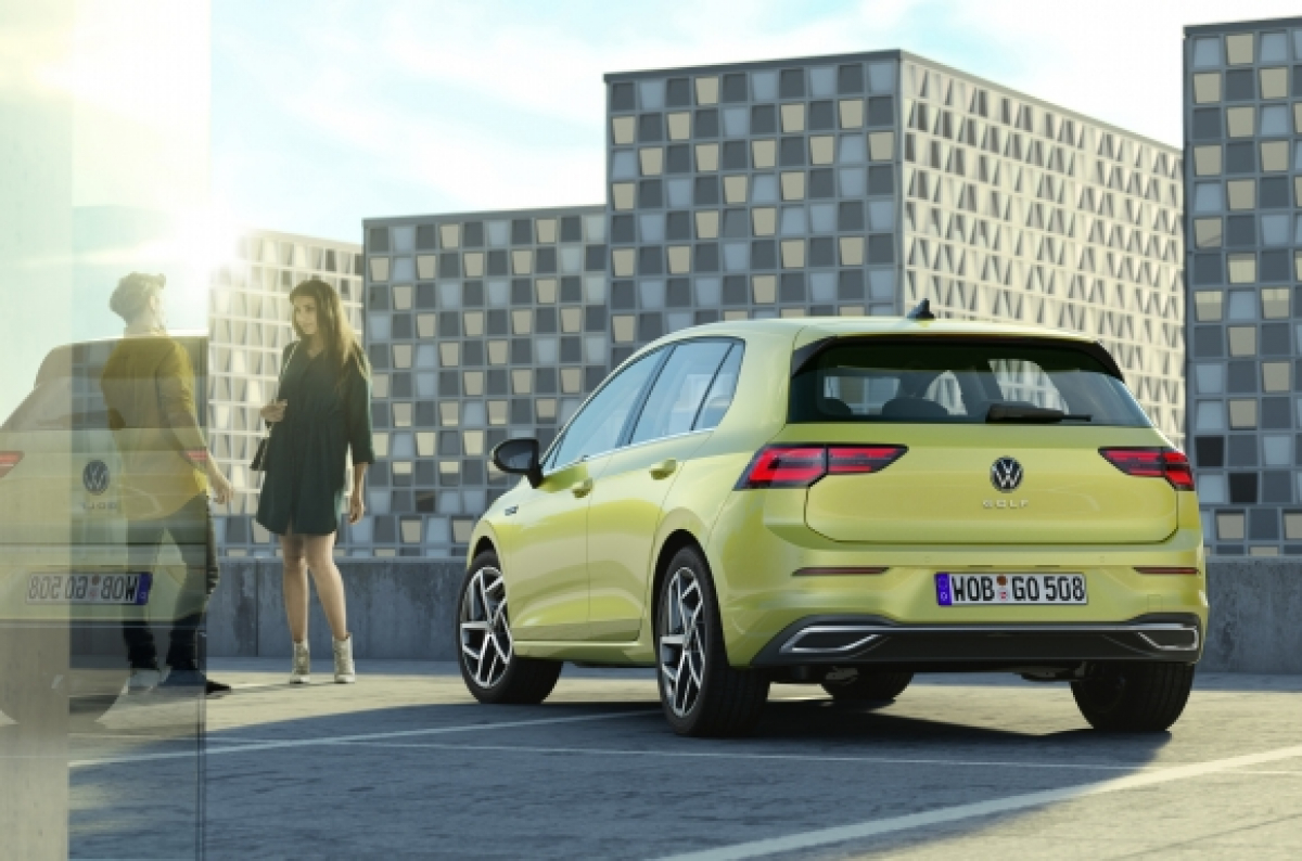 Your First Glimpse of the Brand New Volkswagen Golf Image 1