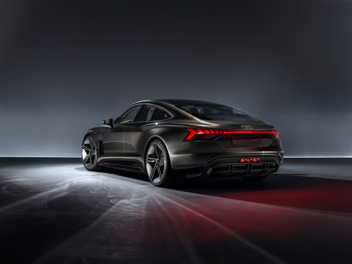 Audi's electric charge is set to continue with the brand's new signature car, the e-tron GT Image 1