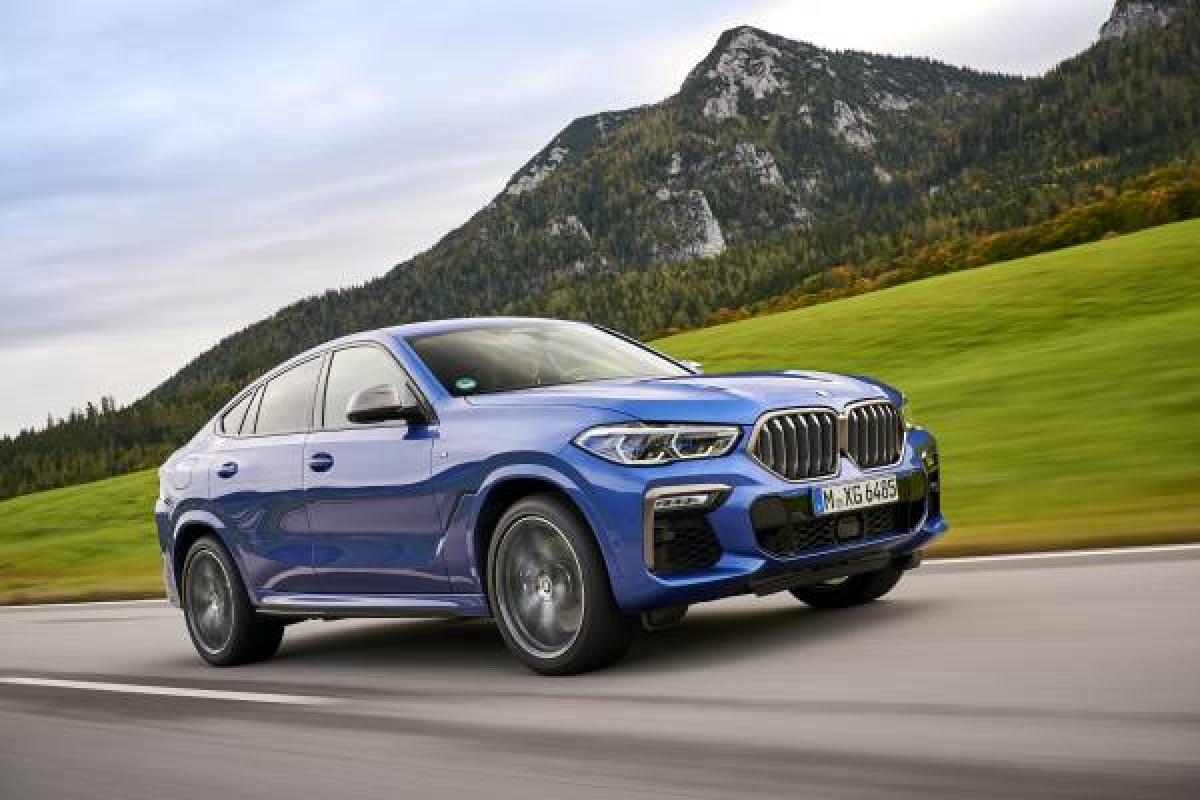 The Latest Edition of BMW's X6 Has Been Unveiled Image 0