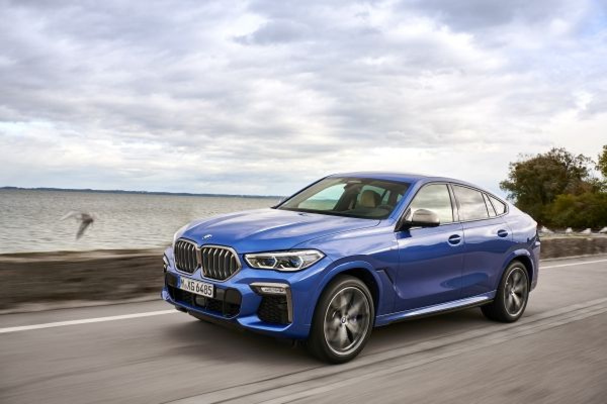 The Latest Edition of BMW's X6 Has Been Unveiled