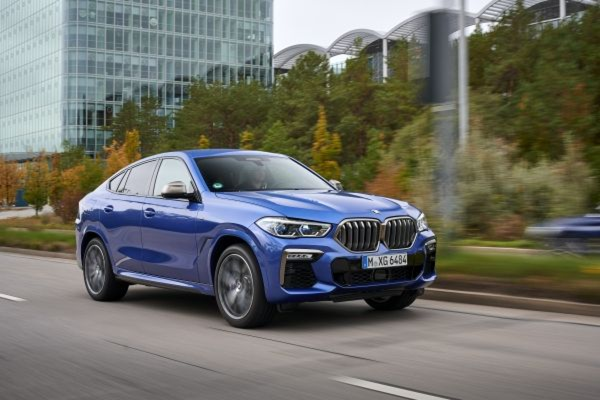 The Latest Edition of BMW's X6 Has Been Unveiled Image 1