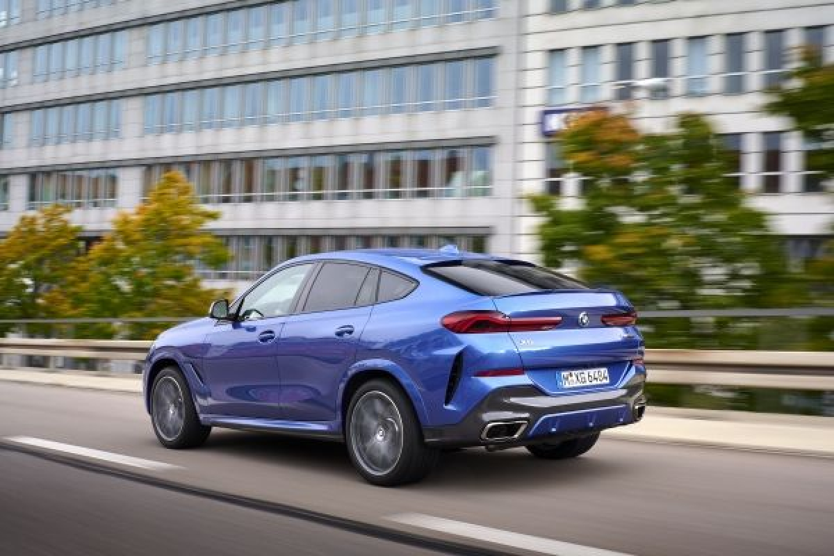 The Latest Edition of BMW's X6 Has Been Unveiled Image 2