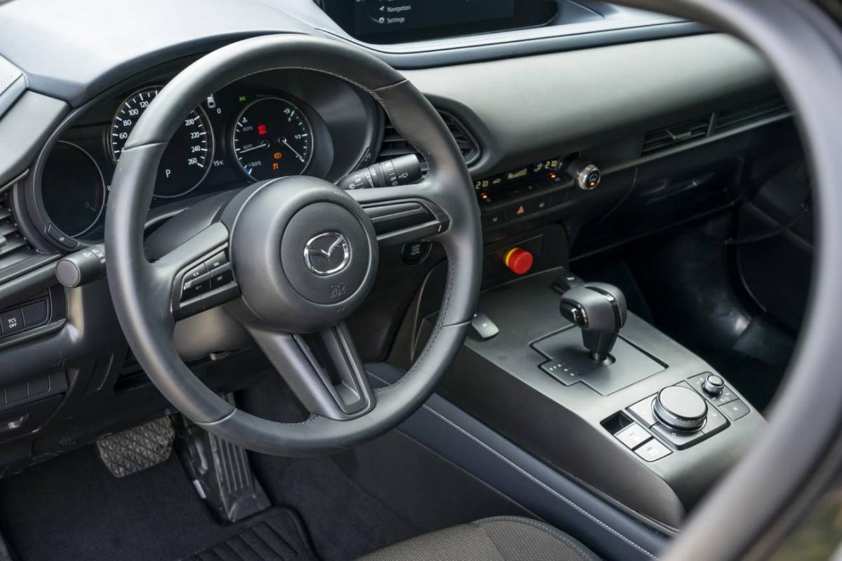 Mazda MX-30 Electric Vehicle Prototype Image 3