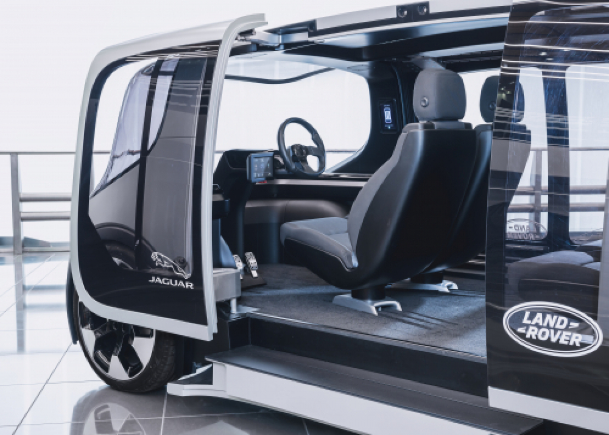 Jaguar Land Rover Show Off Their Vision for Future Mobility Image