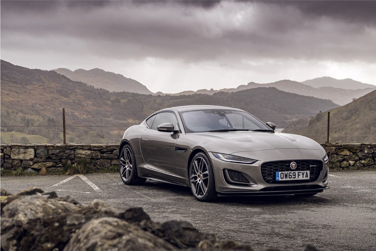 Jaguar F-Type Coupe 450ps First Edition